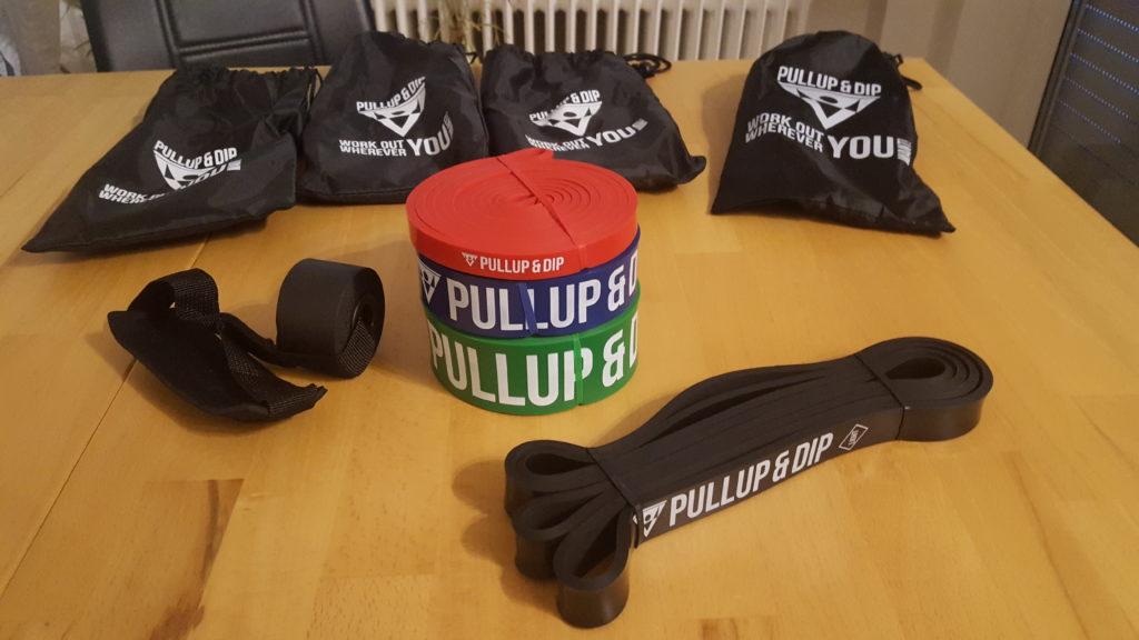 Klimmzugband Pullup & Dip